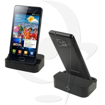 chargeur telephone portable samsung gt i9100 galaxy s ii. Black Bedroom Furniture Sets. Home Design Ideas